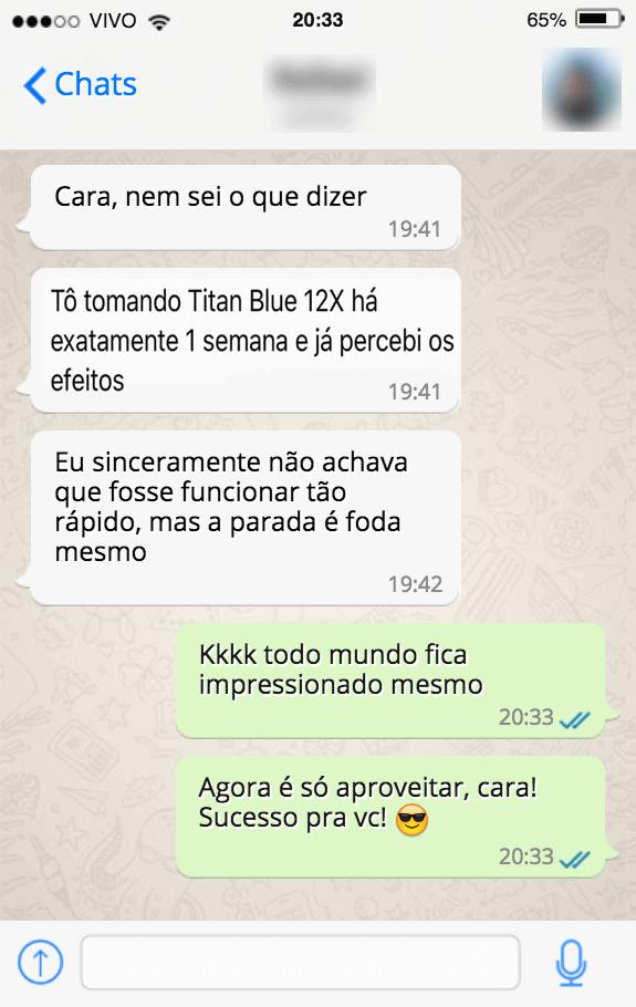 titan blue 12x depoimento 2